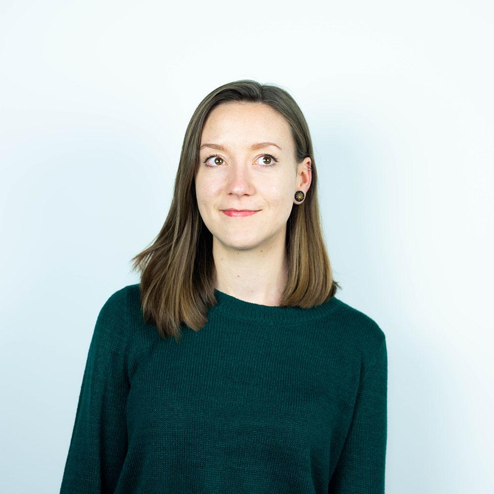 Portrait of Louise Berg, Filmmaker video producer